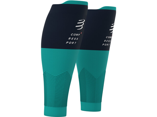 Compressport R2V2 Scalda polpacci, nile blue